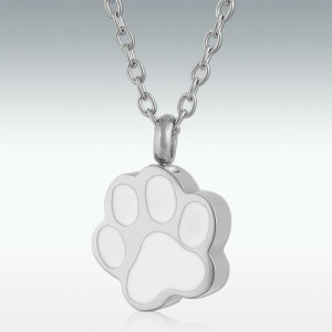 Silver Paw Charm